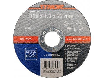 Kotouč na kov 115 x 22 x 1,0 mm