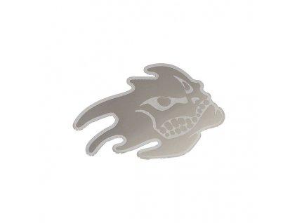 Znak HEAD samolepící METAL velký