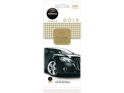 Osvěžovač AROMA CAR PRESTIGE CARD GOLD