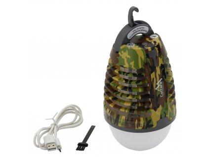 Svítilna PEAR ARMY nabíjecí + lapač hmyzu