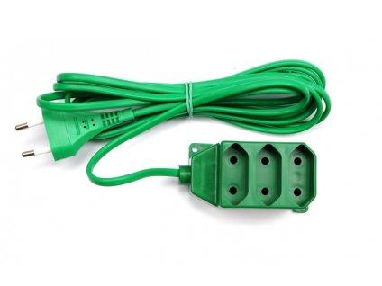 Kabel prodlužovací 3 m 3 zásuvky