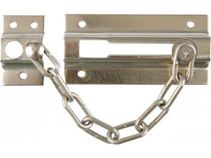 Řetěz na dveře stříbrný