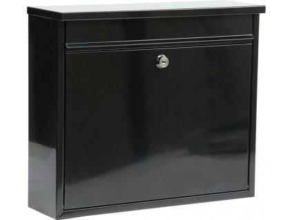 Poštovní schránka 310x360x100mm černá