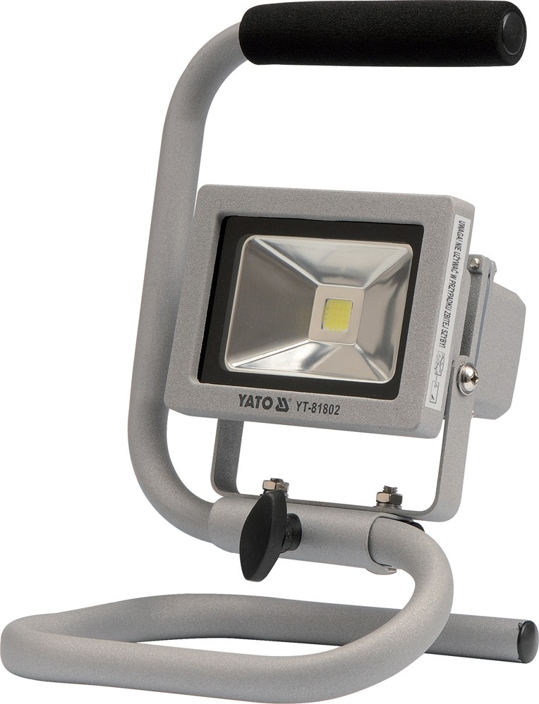 Reflektor přenosný s vysoce svítivou COB LED, 10W, 700lm, IP65, 1,8m kabel
