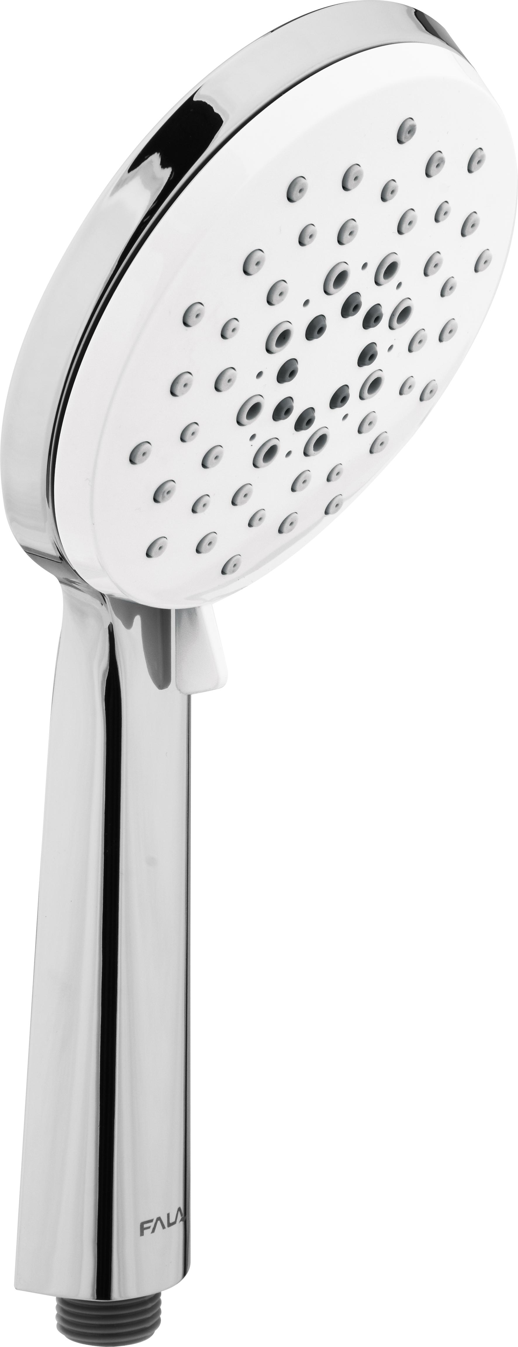 Sprchová hlavice WHITE MOON 120mm 3 funkce