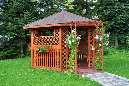 Zahradní domky, altány a pavilony