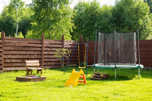 Vyžití dětí na zahradě