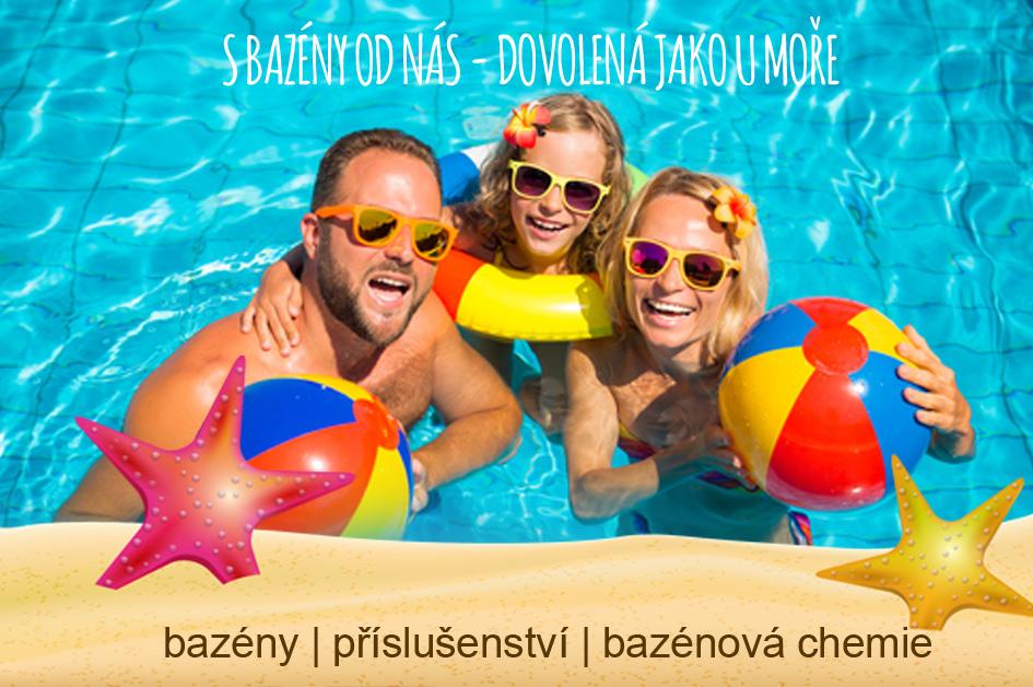 Bazény a bazénová chemie za top ceny