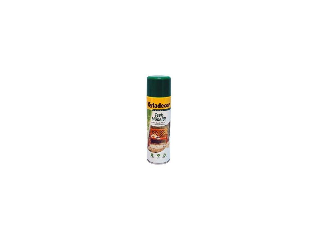 XD Teak Oil spray bezbarvý 0,5l