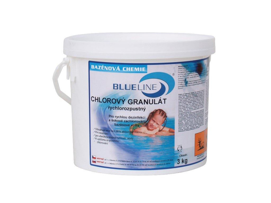 501603 - rychlorozpustný chlorový granulát