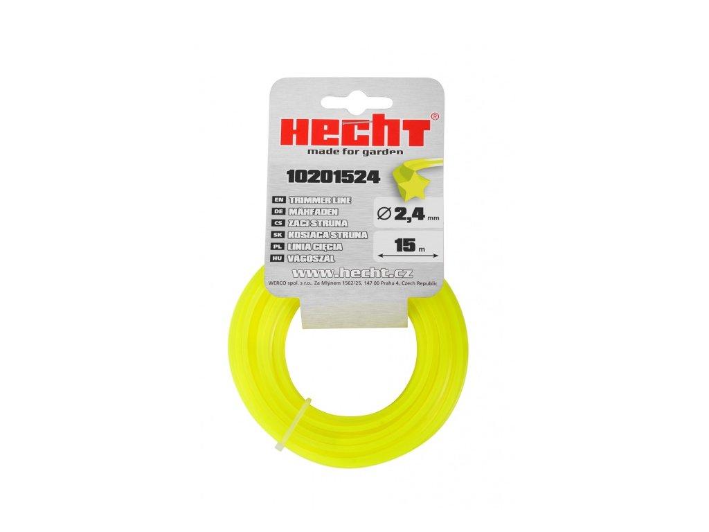 HECHT 10201524 - struna hvězdicovitá 2,4 mm x 15 m