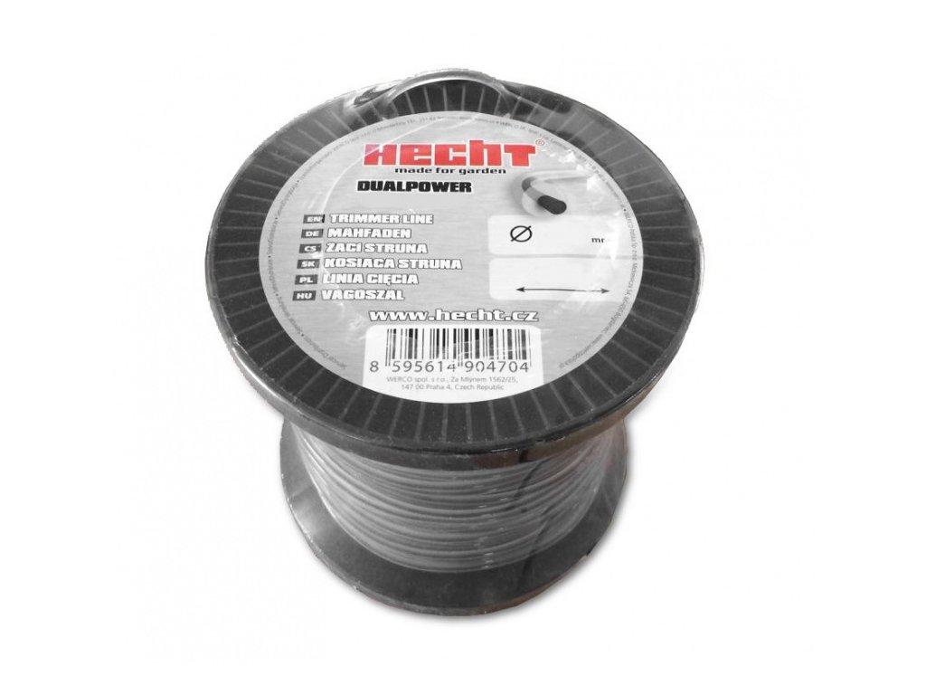 hecht 10423230 struna ctvercova 3 mm x 232 m original