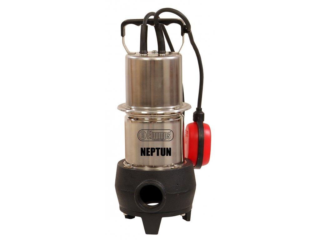 Elpumps NEPTUN - kalové čerpadlo do septiku s volným průtokem