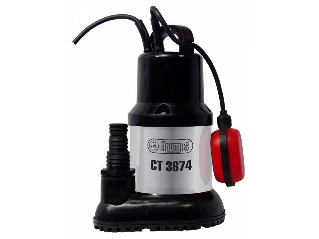 Elpumps CT 3674 - univerzální ponorné čerpadlo