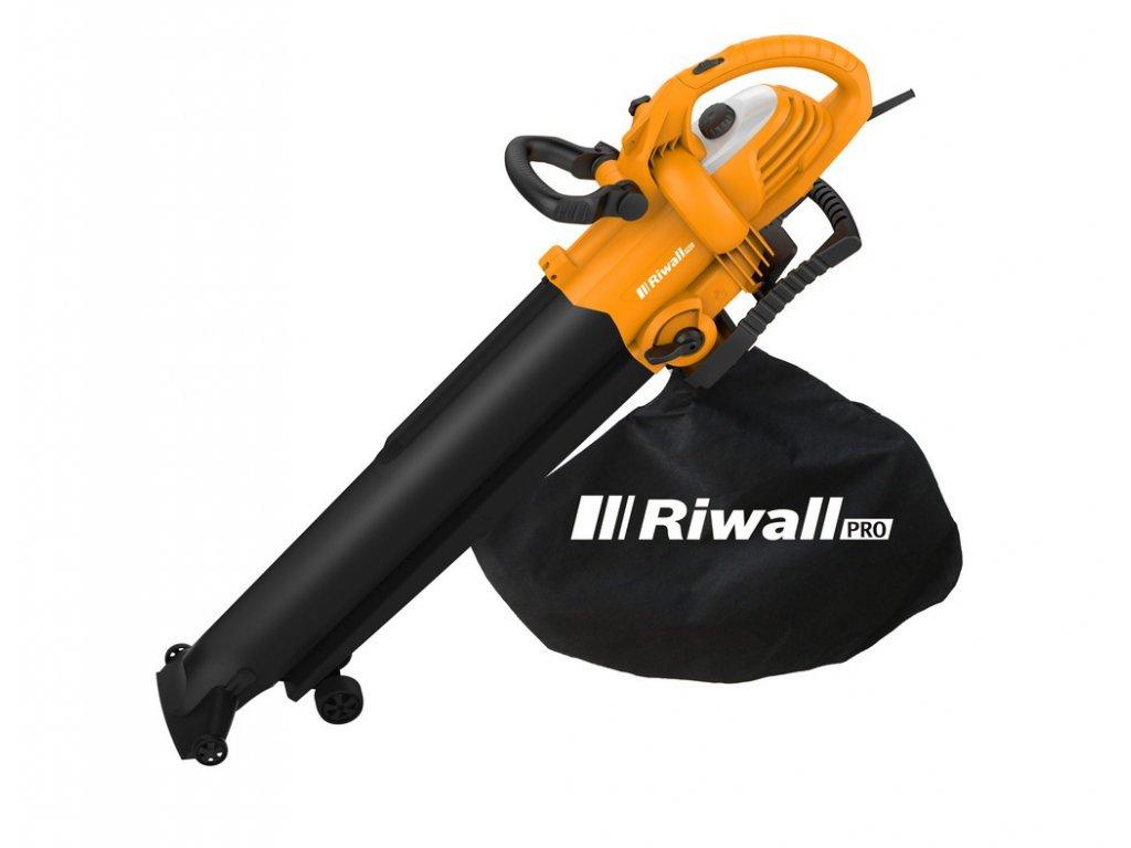 Riwall PRO REBV 3000 - vysavač/foukač s elektrickým motorem 3000 W