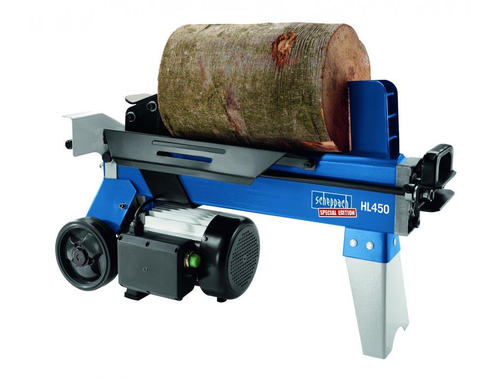 Scheppach / Woodster Scheppach HL 450 - horizontální štípač dřeva