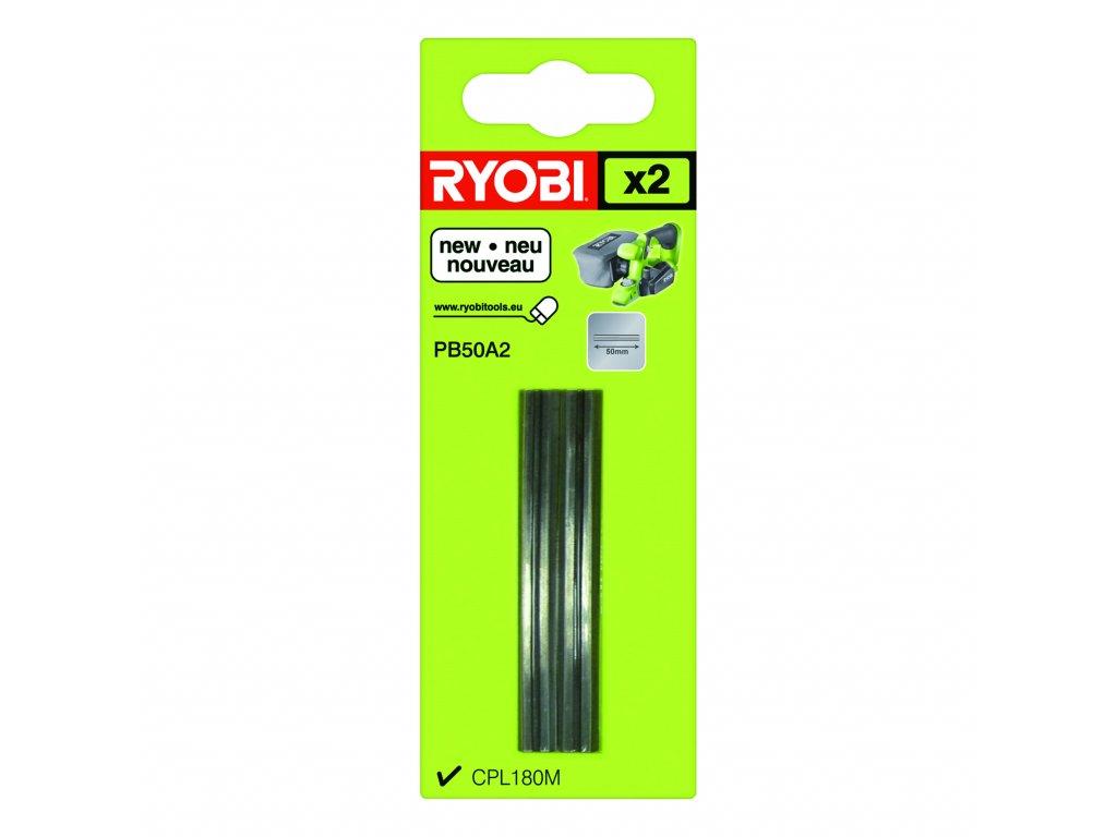 Ryobi PB 50 A2 - sada nožů do hoblíku (2 ks) CPL 180 MHG