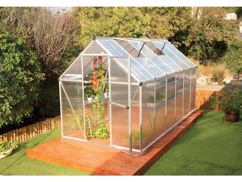 Palram multiline 6x12 - polykarbonátový skleník
