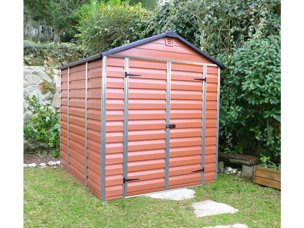 Palram Skylight 6x8 hnědý - zahradní domek