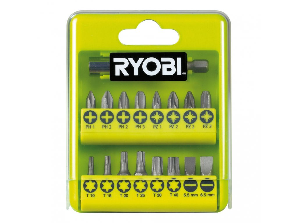 Ryobi RAK 17 SD - 17 ks sada šroubovacích bitů