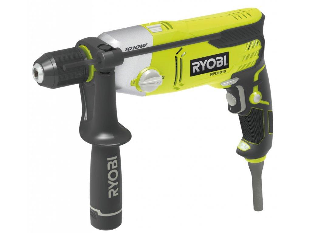 Ryobi RPD1010-K - 1010 W příklepová vrtačka s elektrickým motorem