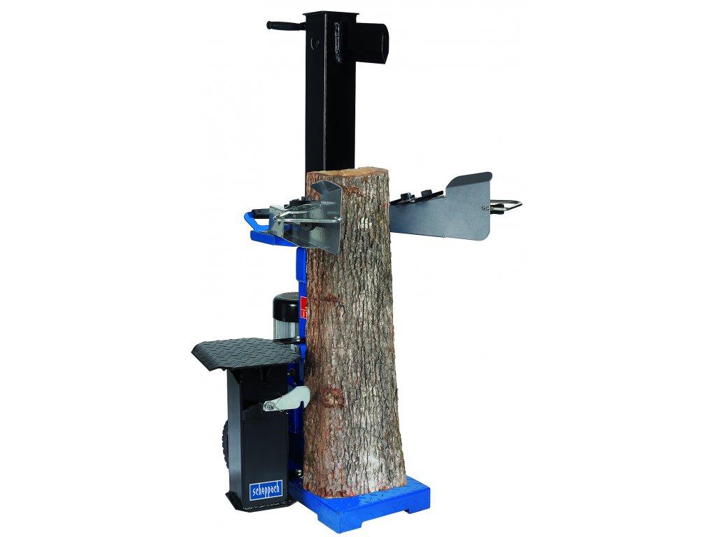 Scheppach HL 1200s - vertikální štípač dřeva