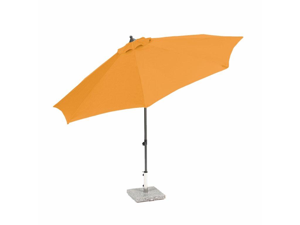 Garland Venice - středový slunečník 2,7 m (oranžový)