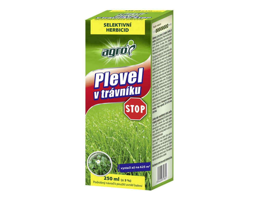 AGRO Plevel v trávníku STOP 250 ml
