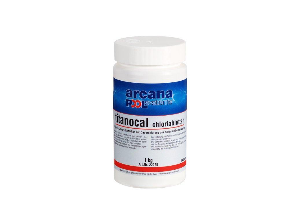 Arcana Chlorové tablety 1 kg - Titanocal