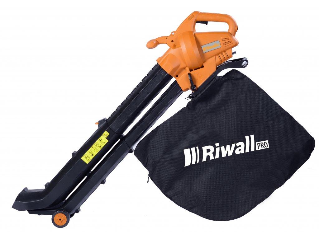 Riwall PRO REBV 3000 e - vysavač/foukač s elektrickým motorem 3000 W