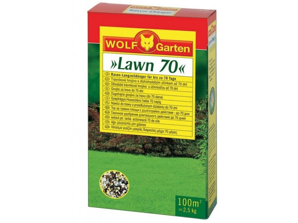 WOLF-Garten LD-A 100 - hnojivo na trávník s dlouhodobým účinkem