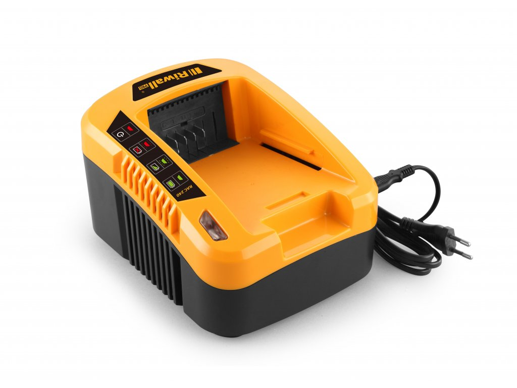 Riwall PRO RAC 240 - nabíječka 40 V (pomalá)