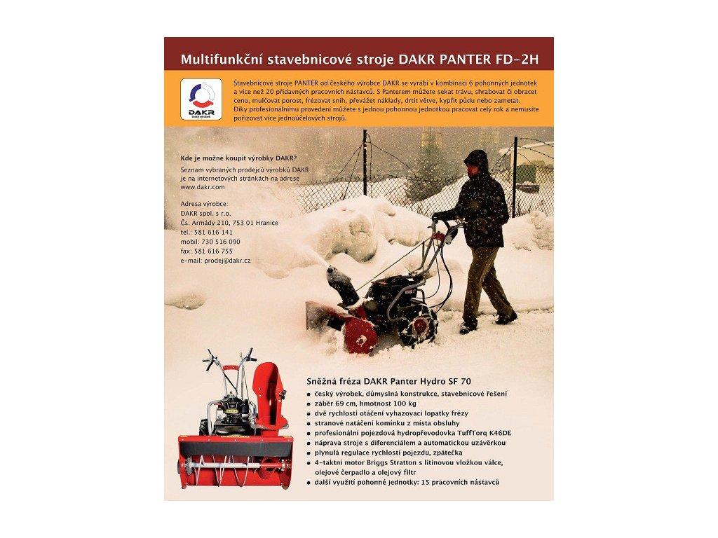 Sněžná fréza PANTER HYDRO SF 70