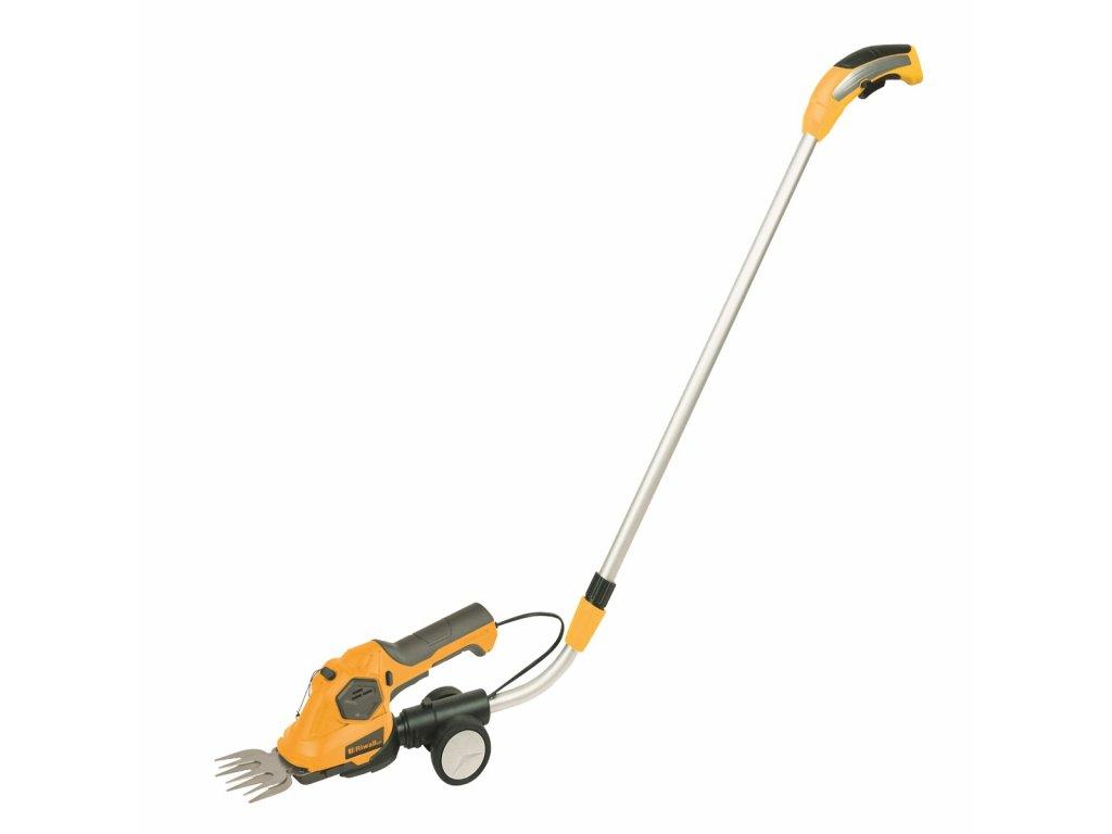 Riwall PRO RASH 1236 LH - aku nůžky 3,6 V na trávu a keře s teleskopickou rukojetí