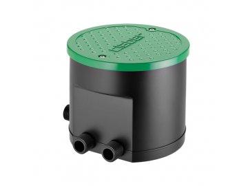 """HYDRO 4 řídící jednotka se čtyřmi solenoidními ventily s časovačem a 3/4"""" šroubením"""