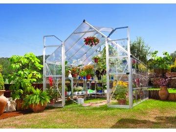 Palram Balance 8x12 silver - polykarbonátový skleník