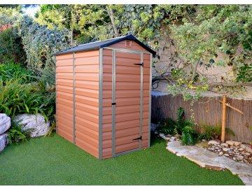Palram Skylight 4x6 hnědý - zahradní domek
