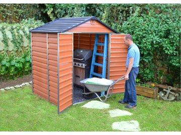 Palram Skylight 6x5 hnědý - zahradní domek