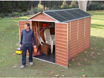 Palram Skylight 6x10 hnědý - zahradní domek