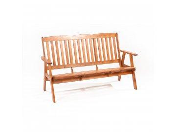Garland Oliver - třímístná zahradní lavice z borovice