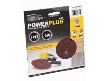 POWAIR0122 - 5x brusný disk prům.150  G60