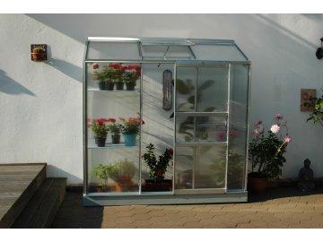 skleník VITAVIA IDA 1300 PC 4 mm stříbrný