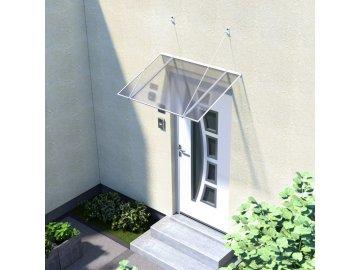 vchodová stříška LANITPLAST SP1 120/70 bílá