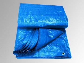 Krycí plachta modrý ovál 8 x 4,3m