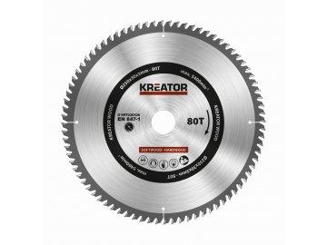 KRT020426 - Pilový kotouč na dřevo 250mm, 80T