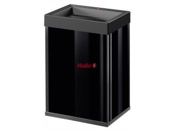Hailo Big-Box Quick 40 černý - Velkoobjemový odpadkový koš s otevřeným vhodem
