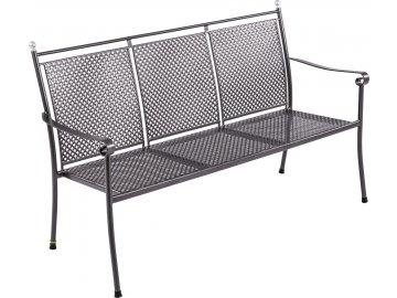 Garland Excelsior - stohovatelná trojmístná lavice z tahokovu 62 x 153 x 93,5 cm