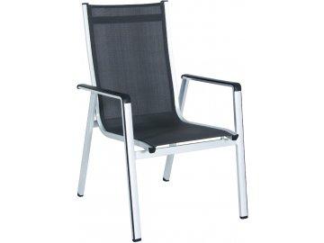 MWH Elements - hliníková stohovatelná židle 69 x 64 x 98 cm