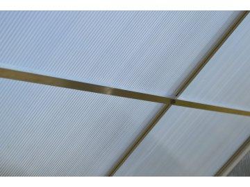 zpevňující střešní lišty pro skleník LANITPLAST PLUGIN 6x10