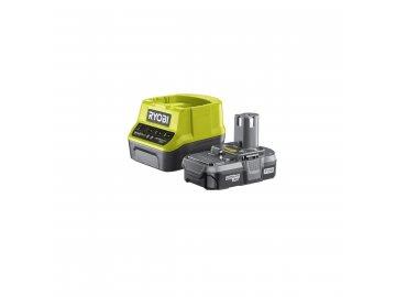Ryobi RC18120-113 - sada 18 V lithium iontová baterie 1,3 Ah s nabíječkou RC18120 ONE+